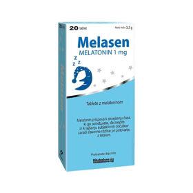 Slika Melasen melatonin 1 mg, 20 ali 50 tablet