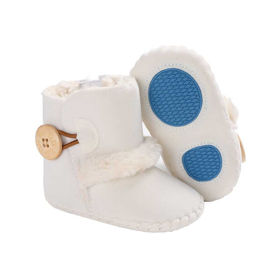 Slika Baby Star zimski podloženi škorenjčki beli