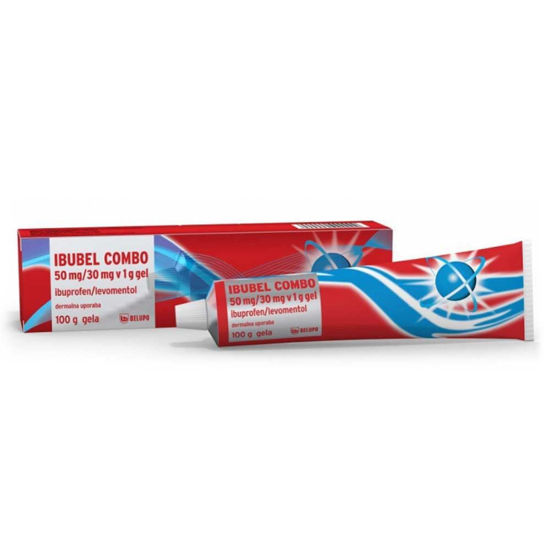Ibubel Combo 50mg/30mg/1g gel, 100 g