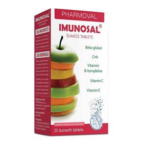 Slika Imunosal, 20 šumečih tablet