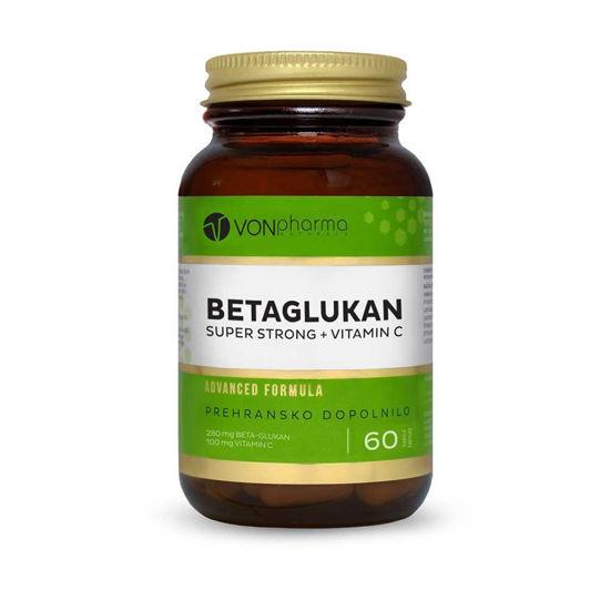 Vonpharma Betaglukan Super Strong + Vitamin C, 60 kapsul