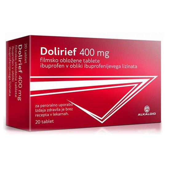 Dolirief 400 mg, 20 filmsko obloženih tablet