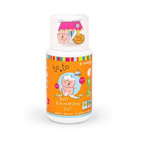 Slika Baby šampon za lase in telo, to.to, 500 mL