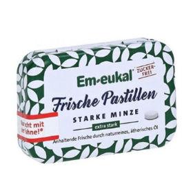 Slika Em-Eukal močna meta osvežilne pastile - brez sladkorja, 20 g