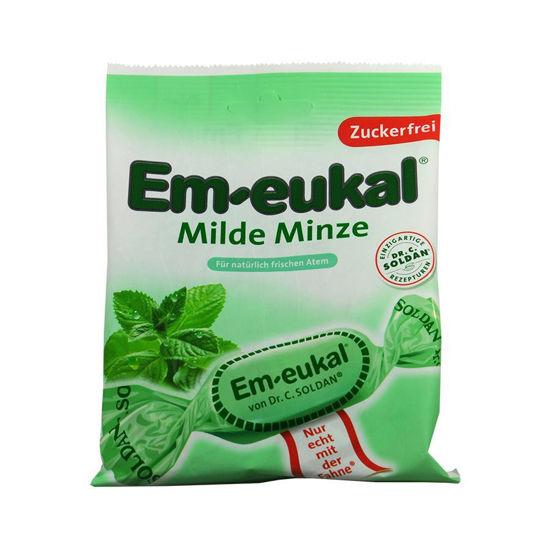 Em-Eukal meta bonboni brez sladkorja, 75 g