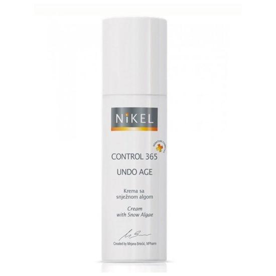 Nikel Control 365 UNDO age krema s snežno algo, 50 mL