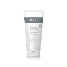Slika NiKEL Hyaluron + A vitamin nočna krema, 50 mL