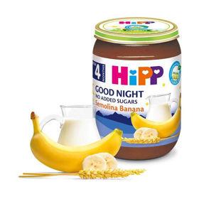 Slika Hipp kašica za lahko noč banana in zdrob, 190 g