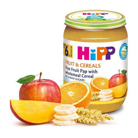 Slika HiPP blaga sadna kašica z žiti, 190 g