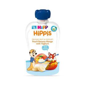 Slika HiPP HiPPis Bio Breskve, banane, mango z jogurtom, 100 g