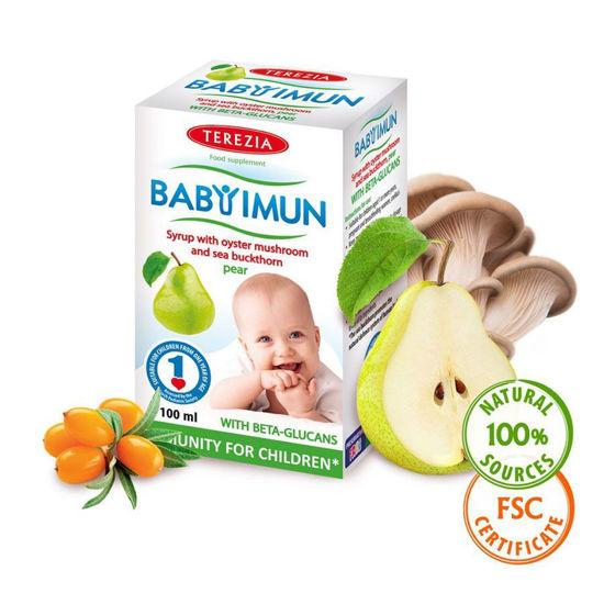 Baby Imun sirup za otroke z okusom, 100 mL