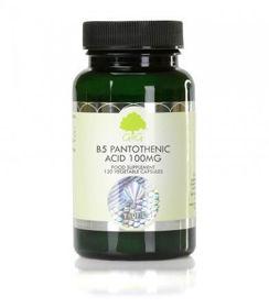 Slika G&G Vitamins B5 pantotenska kislina 100 mg, 120 kapsul