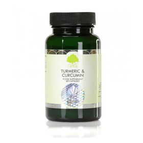 Slika G&G Vitamins Kurkuma in kurkumin, 60 kapsul