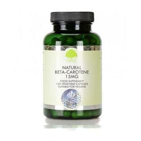 Slika G&G Vitamins naravni beta-karoten 15 mg, 120 kapsul