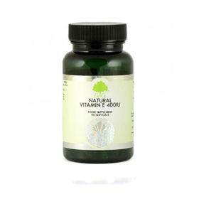 Slika G&G Vitamins E vitamin  - naraven, 120 kapsul