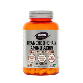 Slika Now Sports BCAA esencialne amino kisline, 120 kapsule