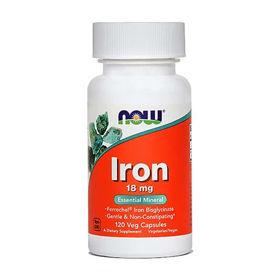Slika Now železo 18 mg, 120 kapsul