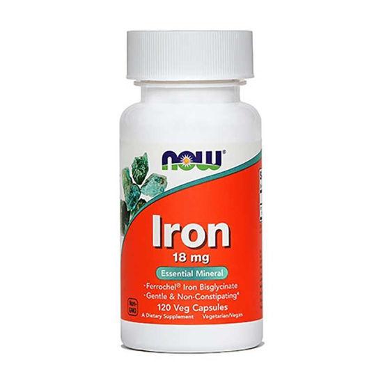 Now železo 18 mg, 120 kapsul