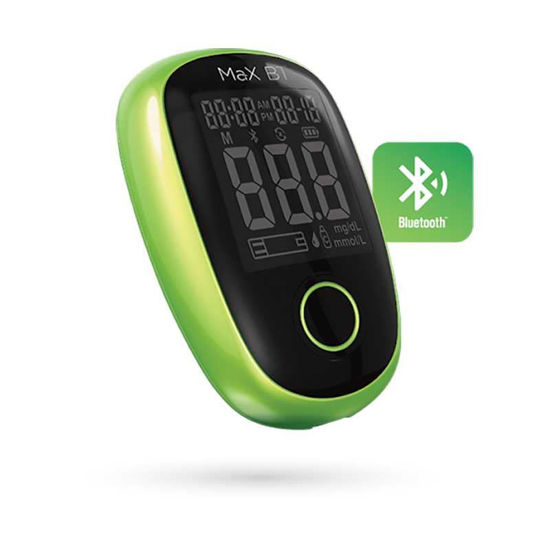 MaX BT edinstveni merilnik ravni glukoze