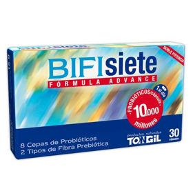 Slika BIFIsiete Suplementos mlečni fermenti dodatek, 30 kapsul