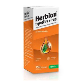 Slika Herbion trpotčev sirup, 150 mL