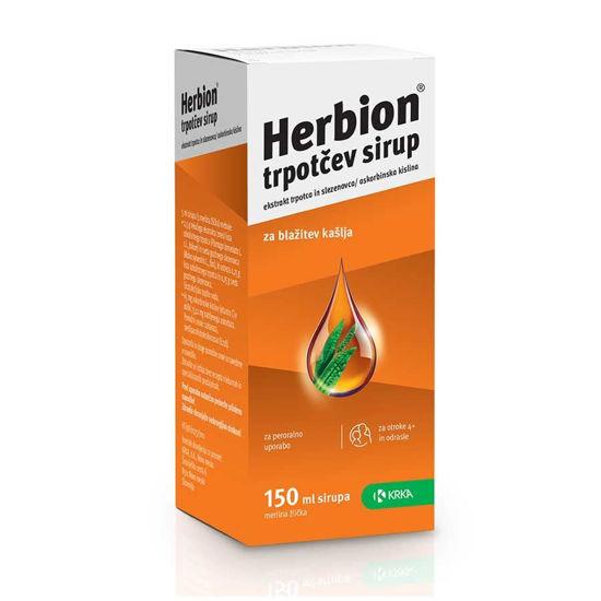 Herbion trpotčev sirup, 150 mL