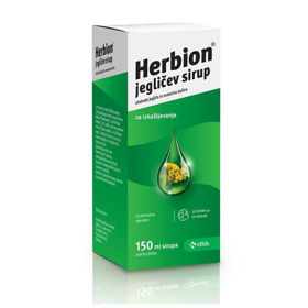 Slika Herbion jegličev sirup, 150 mL
