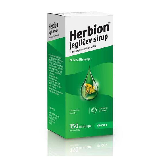 Herbion jegličev sirup, 150 mL