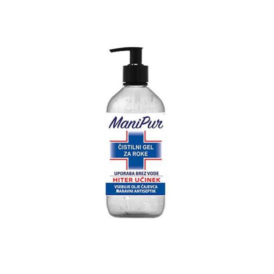 ManiPur čistilni gel za roke, 500 ali 70 mL
