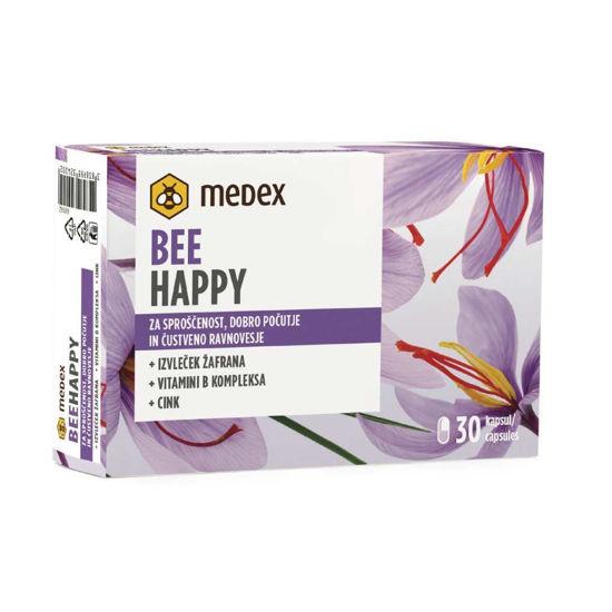 Bee Happy Medex za sproščenost, 30 kapsul