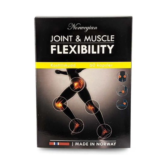 Norwegian Pharma Joint & Muscle Flexibility prožnost sklepov in mišic, 60 kapsul