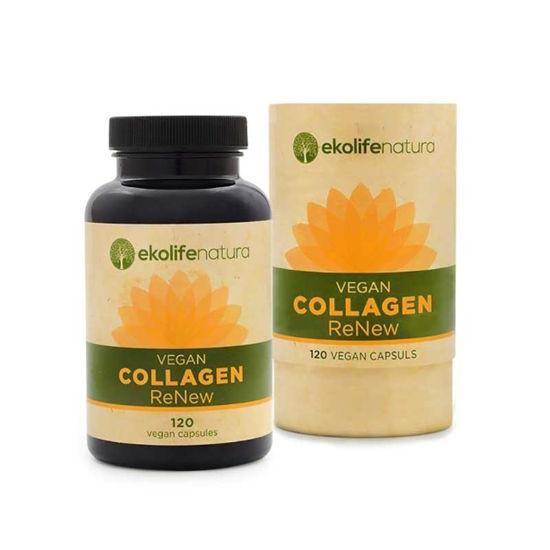Ekolife ReNew veganski kolagen, 120 kapsul