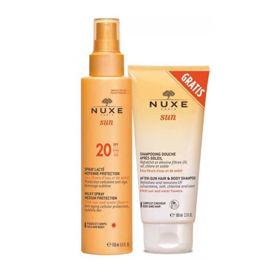 Slika Nuxe Sun mlečno razpršilo za obraz & telo z ZF20, 150 mL ali AKCIJA