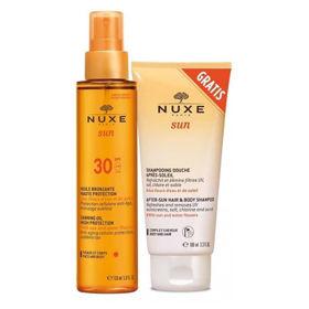 Slika Nuxe Sun olje za čudovit ten za obraz & telo z ZF, 150 mL