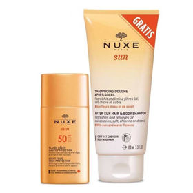 Slika Nuxe Sun lahek fluid za visoko zaščito kože pred soncem z ZF50, 50 mL ali AKCIJA