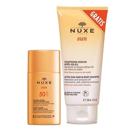 Nuxe Sun lahek fluid za visoko zaščito kože pred soncem z ZF50, 50 mL ali AKCIJA