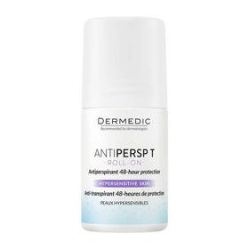 Slika Dermedic ANTIPERSP T roll-on antiperspirantna 48-urna zaščita, 60 g
