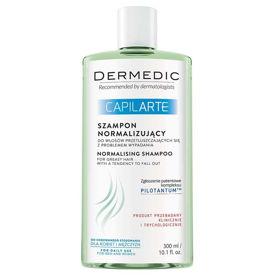 Slika Dermedic Capilarte šampon za uravnavanje mastnega lasišča s težnjo k izpadanju, 300 mL