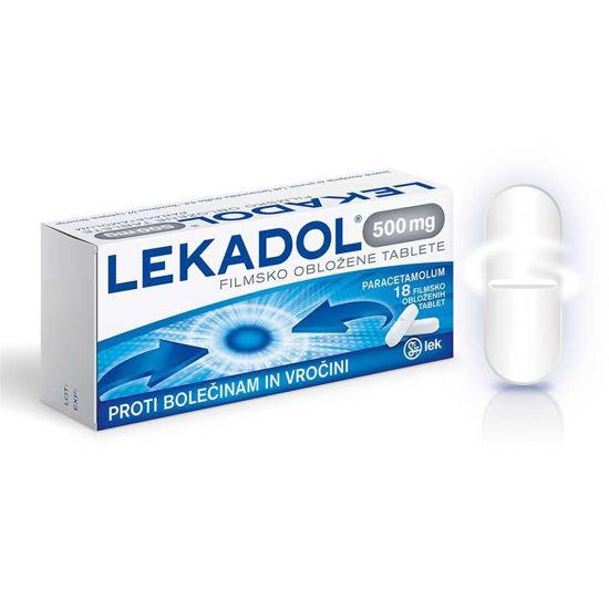 Lekadol, 18 filmsko obloženih tablet