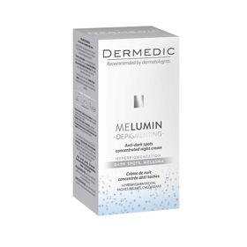 Slika Dermedic Melumin nočna krema proti temnim madežem, 55 mL