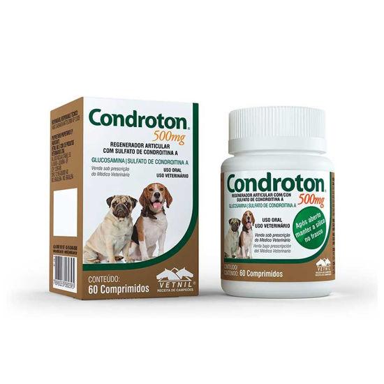 Vetnil Condroton 500 dopolnilo z glukozaminom, 60 tablet