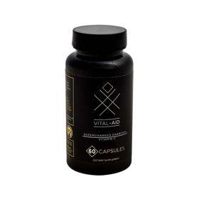 Slika Vital-Aid super aktivno oglje + C vitamin, 30 ali 60 kapsul