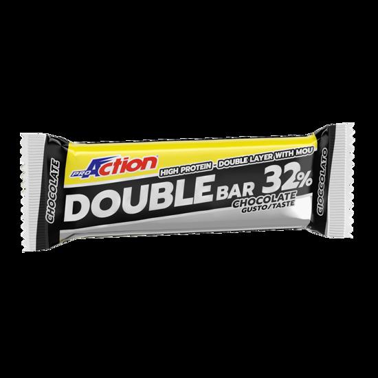 Double bar, beljakovinska ploščica, 60 g, okus čokolada