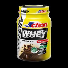 Slika WHEY PROTEIN 900 g  okus bogata čokolada