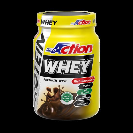 WHEY PROTEIN 900 g  okus bogata čokolada