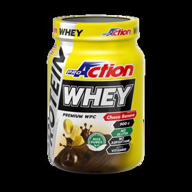 Slika WHEY PROTEIN 900 g  okus čokolada banana