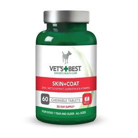 Slika Vet's Best Skin & Coat žvečljive tablete za pse, 60 tablet