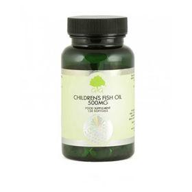 Slika G&G Omega 3 za otroke ribje olje 500 mg, 120 kapsul