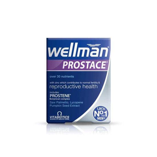Wellman Prostace za težave s prostato, 60 tablet