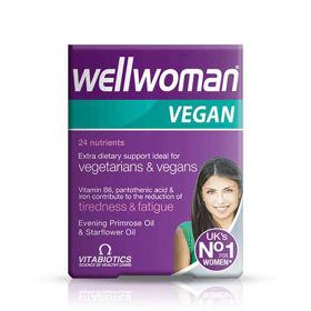 Slika WellWoman Vegan za veganke in vegetarianke, 60 tablet